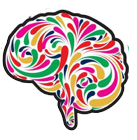 colorful picture of brain