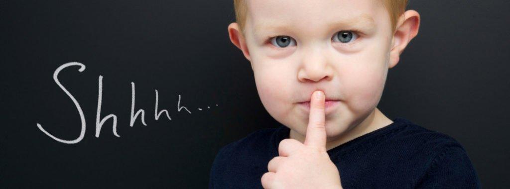 shhhh image