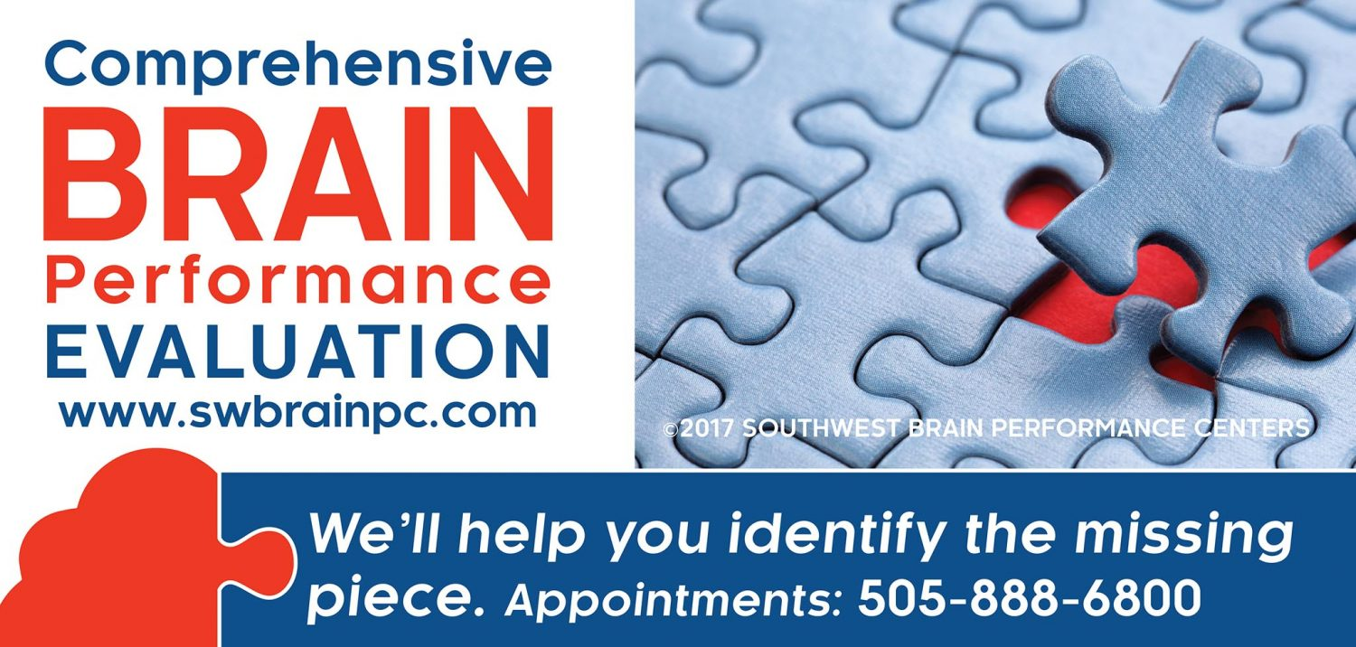 comprehensive brain performance evaluation with Southwest Brain Performance Centers